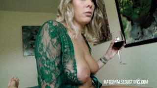 Sexy Mom Reads Fairy Tales And Then Fucks Son