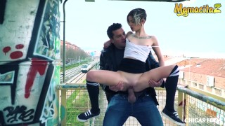 MamacitaZ – Kinky Tinder Dates Decide To Have A Quickie Outside