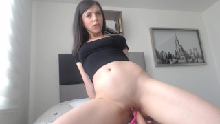 Riding You Cock On My Bed