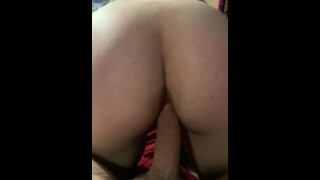 Riding My Fiancé Reverse Cowgirl Until He Exploded Inside My Pussy