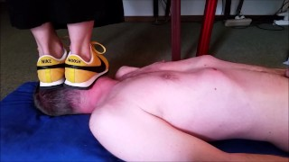 Trampling And Stomping Under Nike Sneaker (Trailer)