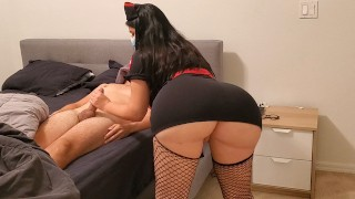 Sexy Young Nurse Destroy Dick In December With Her Huge Ass