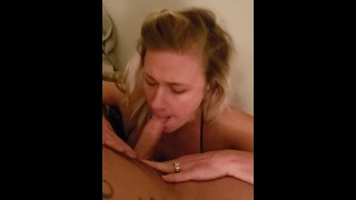 Wife Is Vocal While Giving Head