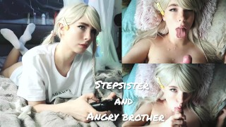 Stepsister Paid With Her Body For A Broken Gamepad (cum Face)❤MollyRedWolf