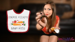 COERCE FEEDING BABY FOOD – PREVIEW – ImMeganLive